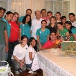 Com Dom Odilon - Belo Horizonte Dezembro 2008